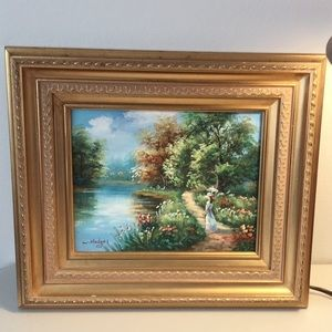 Original Painting by W. Hodges-used